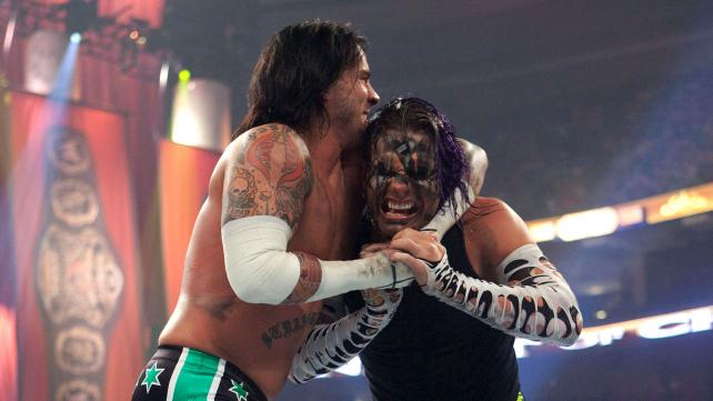 Jeff Hardy vs CM Punk WWE two