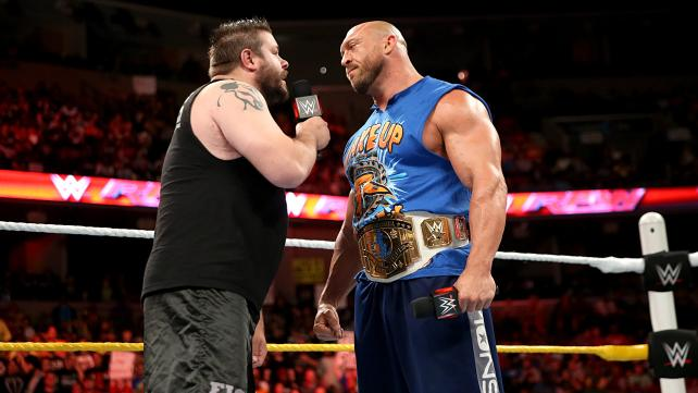Ryback and Kevin Owens