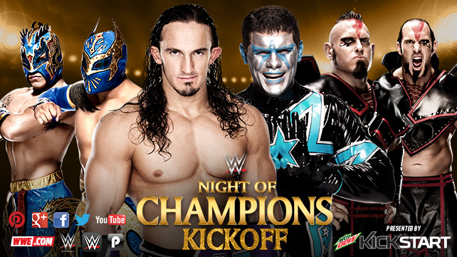 WWENOC Neville & Dragons vs Stardust & Ascension
