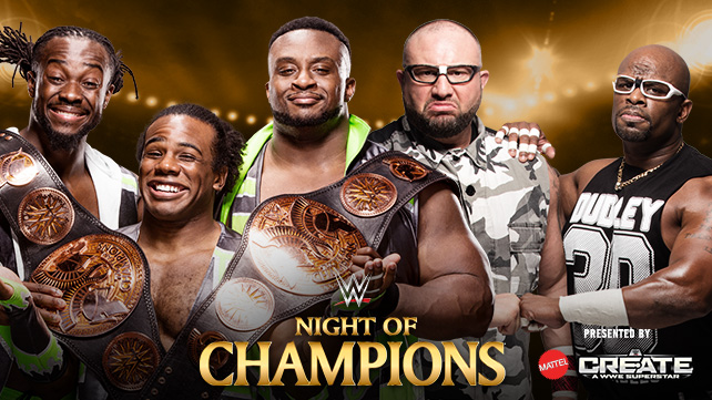 WWENOC New Day vs Dudleys