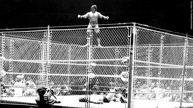 Snuka Steel Cage. While Snuka Didnu0027t Walk Out Of MSG ...