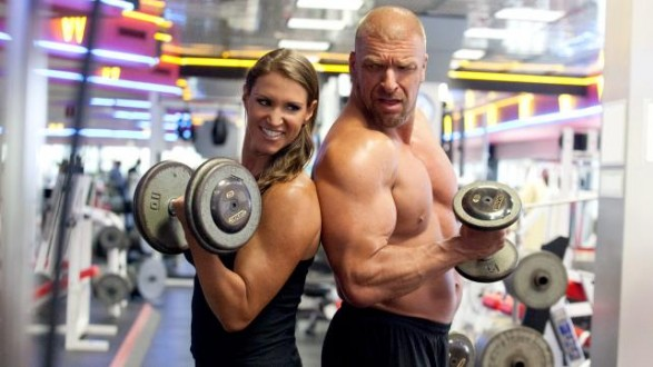 stephanie-triple-h-training