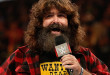 NEW YORK, NY - AUGUST 23:  Mick Foley greets the audience at WWE SummerSlam 2015 at Barclays Center of Brooklyn on August 23, 2015 in New York City.  (Photo by JP Yim/Getty Images)