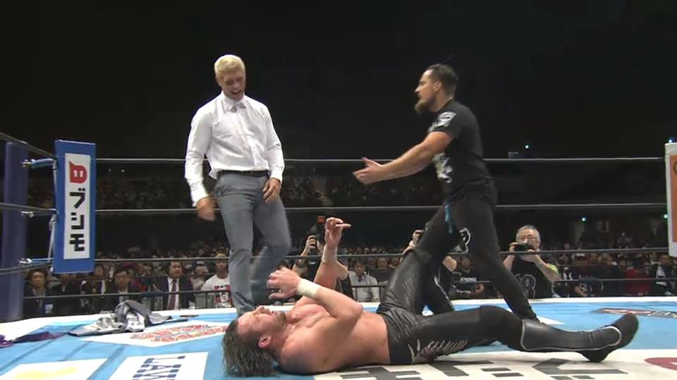 Kenny Omega Out of Bullet Club After Loss, Golden Lovers Reunite